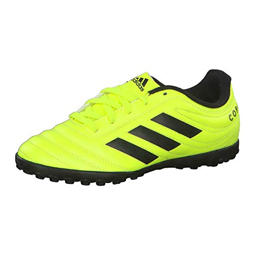 Adidas Copa 19.4 TF J, Botas de fútbol Unisex niño, Multicolor (Solar Yellow/Core Black/Solar Yellow 000), 31 EU