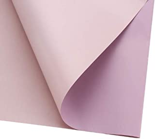 Double Color Flower Wrapping Paper Waterproof Gift Packaging Florist Bouquet Material 20 Sheets 23.623.6 Inch (13)