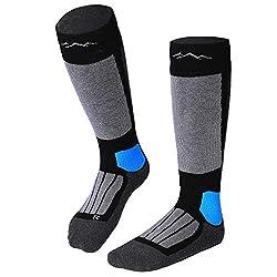 gipfelsport ski socks black (1x pair) 45-47