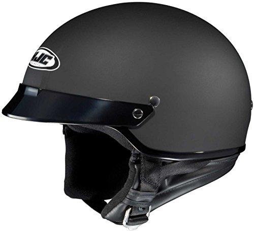 HJC Helmets CS-2N Helmet (Flat Black, Large)