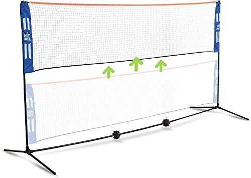 HIT MIT Adjustable Height Portable Badminton Net Set - Com...