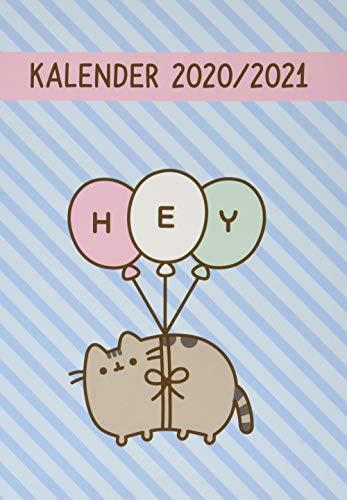 Pusheen 17-Monats-Kalenderbuch A5 -Taschenkalender 2021 mit Wochenkalendarium - gebunden mit flexiblem Einband - Format 15,2 x 21,5 cm