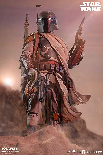 Sideshow Star Wars Mythos Collection Boba Fett 1/6 Scale 12' Action Figure