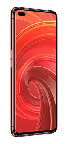 realme X50 PRO Smartphone con Obiettivo Ultra-Grandagolare, Display 90 Hz Super Amoled, 64 MP QUAD Camera, Dual-Selfie Camera da 32 MP, 12/256 GB, Rosso (Rust Red)