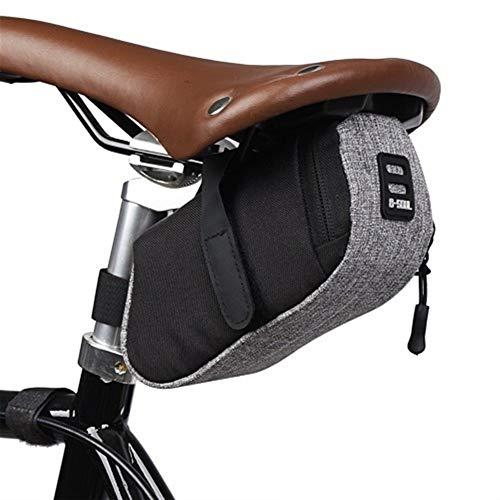 WENYOG Bolsa Sillin Bici Bastidor de la Bicicleta de alforjas Bicicleta al Aire Libre del Asiento Bolsa for la Bicicleta de Ciclo MTB Trasero Accesorios for Bicicletas 2 (Color : 1, Size : Other)