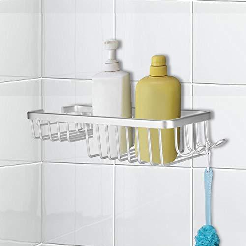 Küchenwandregal, Home Decoration Hohlraum Vertikales Badezimmerregal, Zahnbürste für Shampoo Andere Artikel Seife