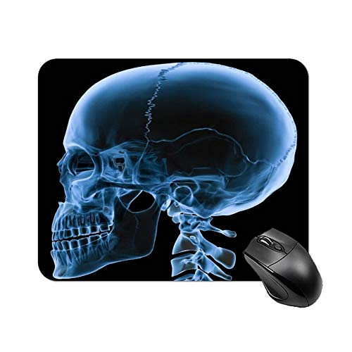 Gaming Mouse Pad X-Ray Skeleton Two Fingers Touching Art Desktop and Laptop 1 Pack 25x20x2cm/9.8x7.9x0.8inch