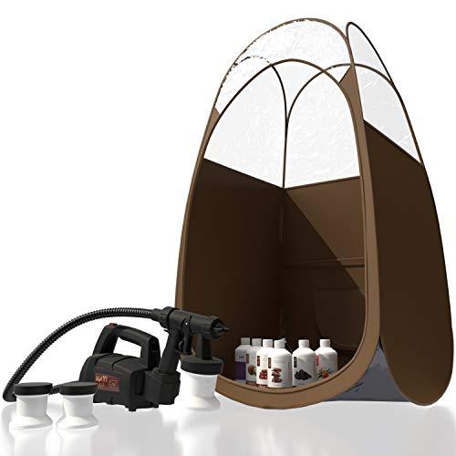 Maximist Lite Plus – Complete Tanning Kit (Includes Brown Tent & Suntana Spray Tan Solutions)