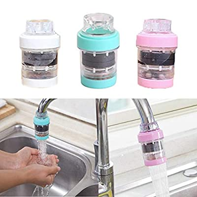 MinGe Durable Portable Telescopic Kitchen Faucet Filter Water Saving Device Touch On Kitchen Sink Faucets