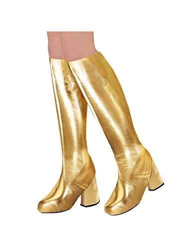 WIDMANN 65789 Stiefelüberzieher für Erwachsene, Gold