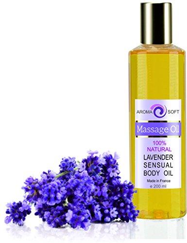 100% naturlig lavendel kroppsmassage mjuk aromaolja 200 ml 100% naturlig sensuell druvkärnolja kroppsmassage mjuk avslappnande aromolja