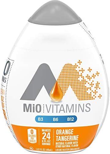 Mio Vitamins Liquid Water Enhancer Orange Tangerine 1 62 Oz Pack 5 product image