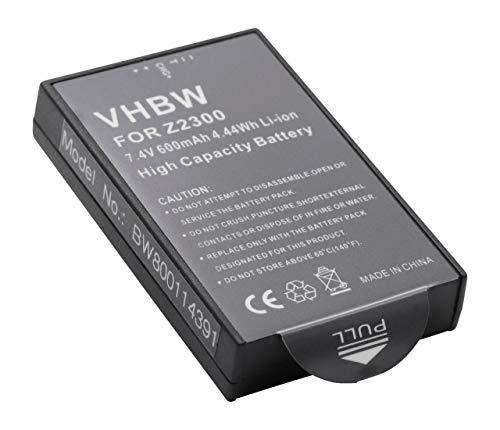 vhbw Li-Ion batteria 600mAh (7.4V) per fotocamera digitale DSLR Polaroid CZA-05300 Pogo, Z2300, Z230E