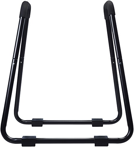 Amazon Basics - Barra de dominadas, ideal para fitness, 87 x 82,5 x 97,5 cm, negro