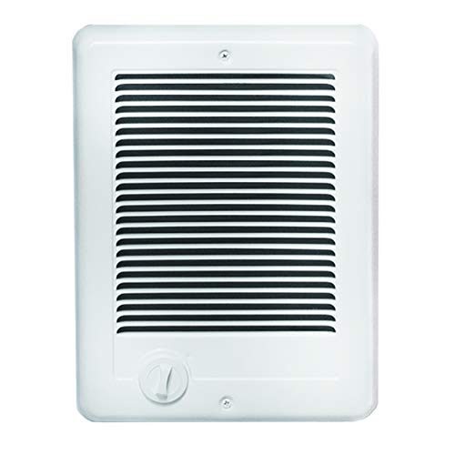 - Cadet Manufacturing 67508 120-Volt White Hard Wired Com Pak Fan Forced Electric Heater, 1000-Watt