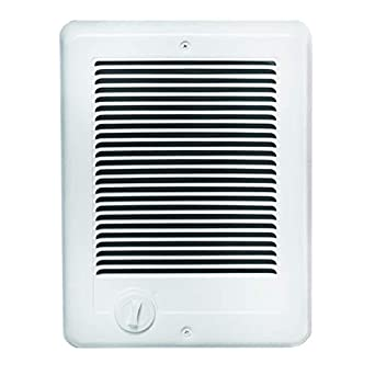 Cadet Com-Pak Electric Wall Heater with Thermostat (Model: CSC101TW),120V, 1000W, White: image