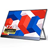 Portable Monitor - UPERFECT 17.3 inch FHD 1080P 100% sRGB, Frameless FreeSync IPS HDR Gaming Display...