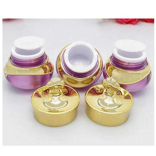 GOOODBUY Envase cosmético Tarro de crema Vaciado Maquillaje Potes Loción Contenedor Kit de Muestras para Cosméticos Contenedores de Viaje Accesorios de Viaje Contenedores con Tapas