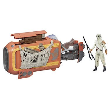 Hasbro B3676 - Star Wars - Das Erwachen der Macht - Rey's Speeder Bike (Jakku) [UK Import]