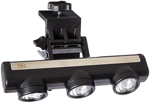 Steven Raichlen Best of BBQ LED-Grilllampe mit 3Strahlern, verstellbar