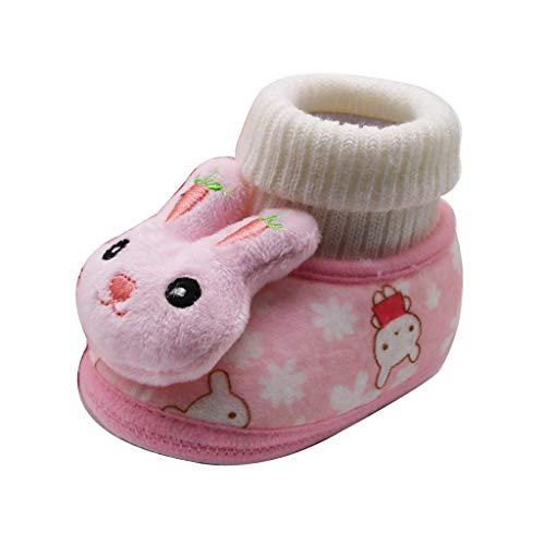 Luckycat Zapatos de bebé, Niña Niño Casuales Zapatillas del Otoño Invierno Flock...