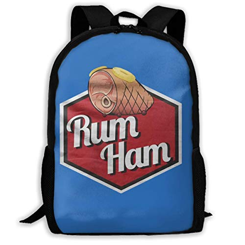 JINGS Rum Ham Laptop Zaino, Suitable for Men and Women to Use Travel School Business Travel Bags.