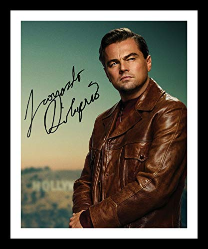 DS Leonardo Dicaprio Autogramme Signiert Und Gerahmt Foto