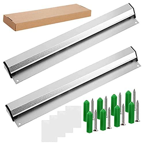 Barra per ordinazioni 2 pezzi, Alluminio, Argento, 30 cm, Barra Porta Comande Appendi Scontrini per...