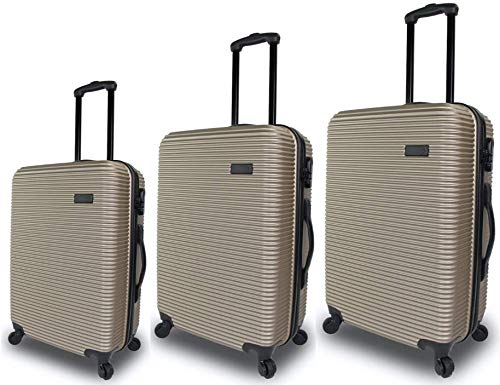 QUBEd Collinear 3 Piece Luggage Set