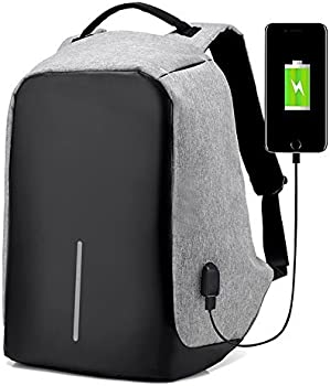 Anti-Theft Travel Laptop Backpack with USB Charging Port