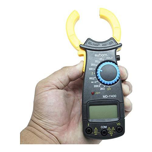 Alicate Amperímetro Md-y400 Digital Profissional