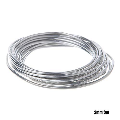 Roeam aluminium aluminium vuldraad, lazen aluminium buis verdamper condensator lasvoertuig, lasdraad, airconditioning koelkast lage temperatuur aluminiumelektrode 10 meter per verpakking 50cm