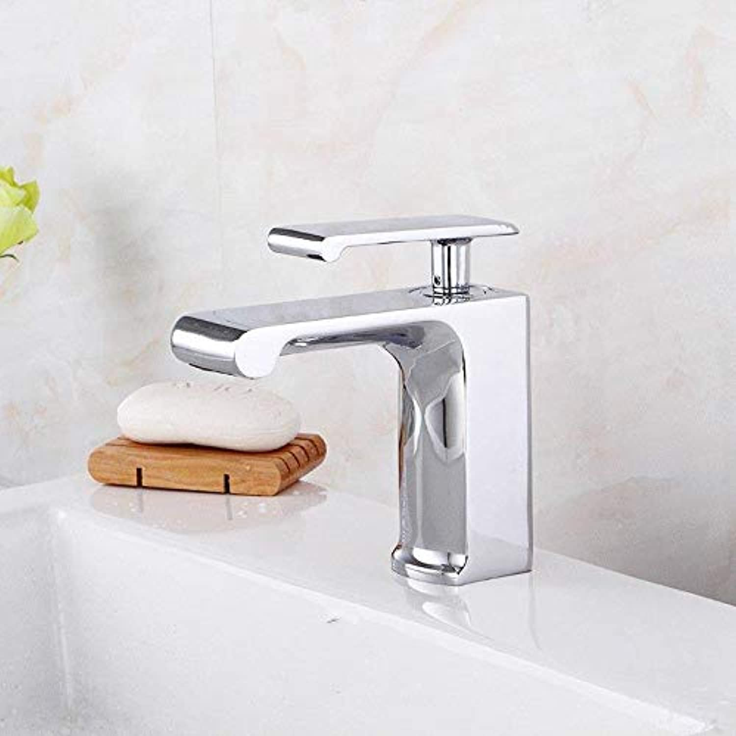 Taps Faucet Wrench-Style Chrome-Plated Brass Faucet Single-Panel Faucet