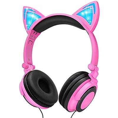 Kids Headphones, Boys Girls Teens Foldable Adju...