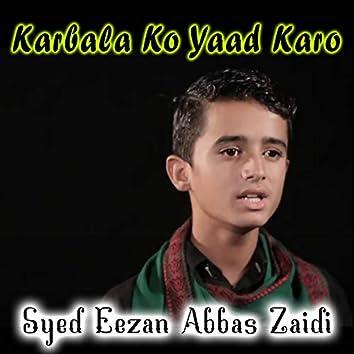 Karbala Ko Yaad Karo - Single
