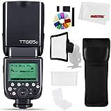 Godox TT685C Fotocamera Strobe Flash Light Ad Alta Velocità Sincronizzazione Esterna 1/8000s TTL Speedlight Flash per Canon Camera 1100D 1000D 7D 6D 60D 50D 600D 500D