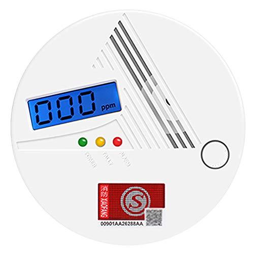 LI MING SHOP Kohlenmonoxid-Detektor Tragbarer Alarm Haushalt Innenofen Kohle Rauch Anti-Co-Vergiftung Küchenerkennung...