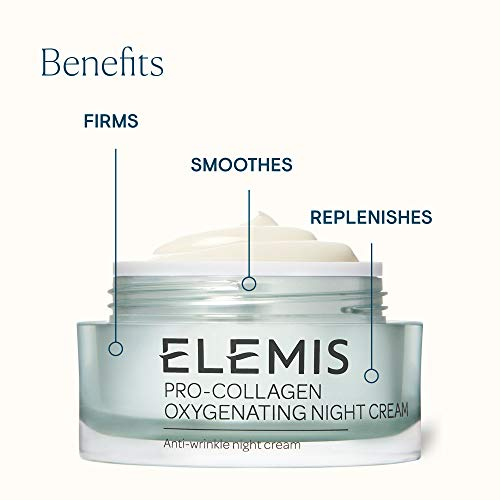 ELEMIS Pro-Collagen Oxygenating Anti-wrinkle Night Cream, 1.6 Fl Oz