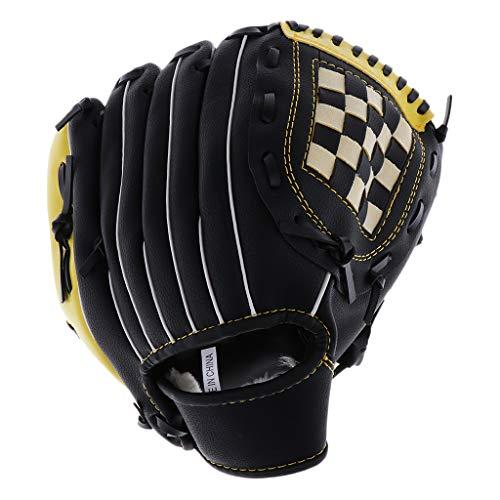 Toygogo Baseballhandschuh Linkshänder Baseball Handschuh Fanghandschuh für Erwachsene Kinder Jugendliche - 12,5 inch