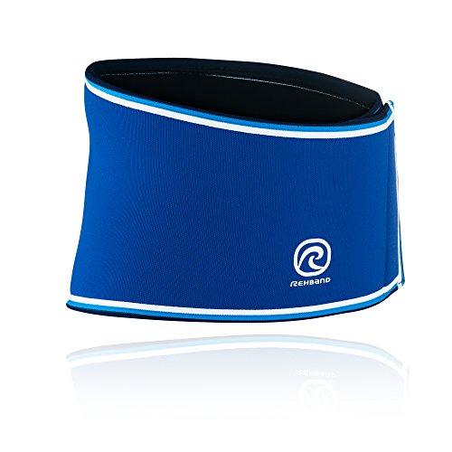 Rehband Bandage Rückenbandage Retro Neopren, Blau, XL