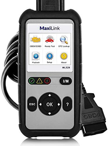 Autel OBD2 Scanner Diagnostic Scan Tool ML529 MaxiLink 529 Code Scanner OBD2 DTC Lookup AutoVIN product image