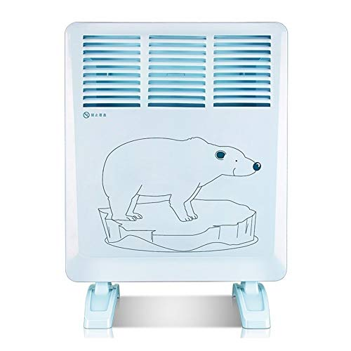 Qbylyf elektrische oven laag energieverbruik muur warmtestraler convectiekoeler waterdicht energiebesparende oven 1200 W verwarming (44 mm X 60 mm X 36 mm grootte) kjhgf