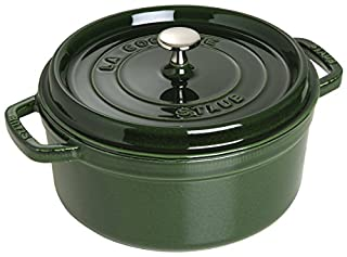 Staub 1102685 Cocotte Ronde Basilic 26 cm (B002WS3MC6) | Amazon price tracker / tracking, Amazon price history charts, Amazon price watches, Amazon price drop alerts