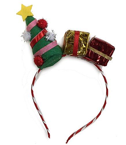 Folat Haarreif Tannenbaum Geschenke Weihnachten Damenkostüm