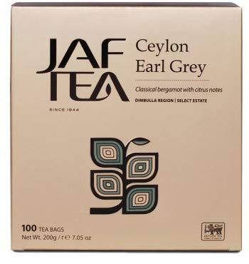 JAF TEA - Ceylon Earl Grey - 100 Teebeutel