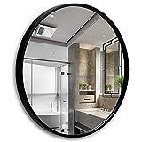 YMLSD Espejos, Espejos de Pared para Habitaciones Res Res de Pared Re Grande, M de Metal Hd a Prueba de Agua, Espejo de Maquillaje, Decoración Del Hogar,a,70 cm