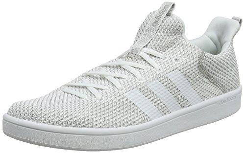 Adidas CF ADV Adapt, Zapatillas de Deporte Hombre, Blanco (Ftwbla/Ftwbla/Gridos 000), 49 1/3 EU