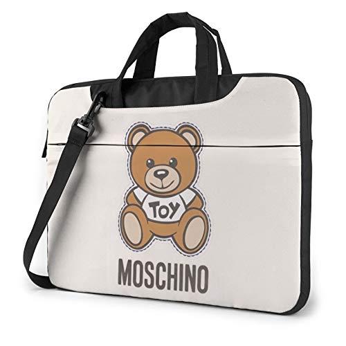 Moschino Bear Laptop Bag Laptop Shoulder Bag Notebook Computer Case Sleeve For 15.6 inch
