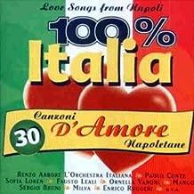100% Italia - Love Songs From Napoli (Cd Compilation, 30 Tracks)