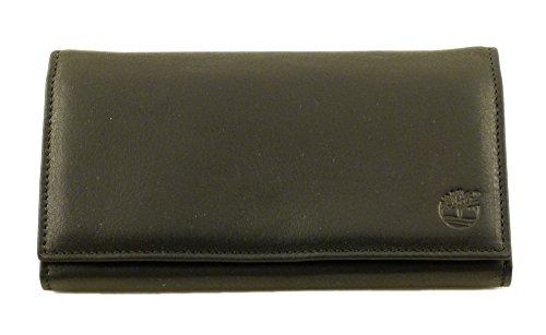 Portafoglio donna in pelle Timberland M2994 nero 001